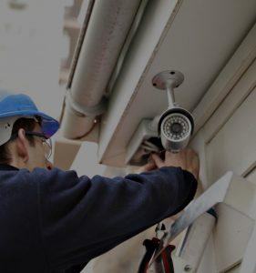 instalação de cameras de seguranca